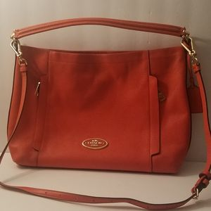 Coach Scout Hobo Bag (Coral)